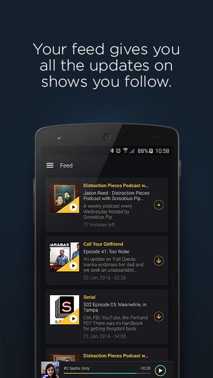Acast - Podcast Player screenshot #2