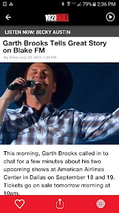 102.3 The Bull - Wichita Falls #1 for New Country- screenshot thumbnail