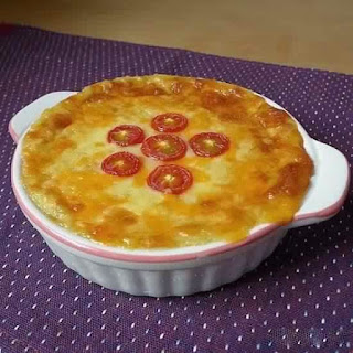 Potato Gratin With Cheese And Onions