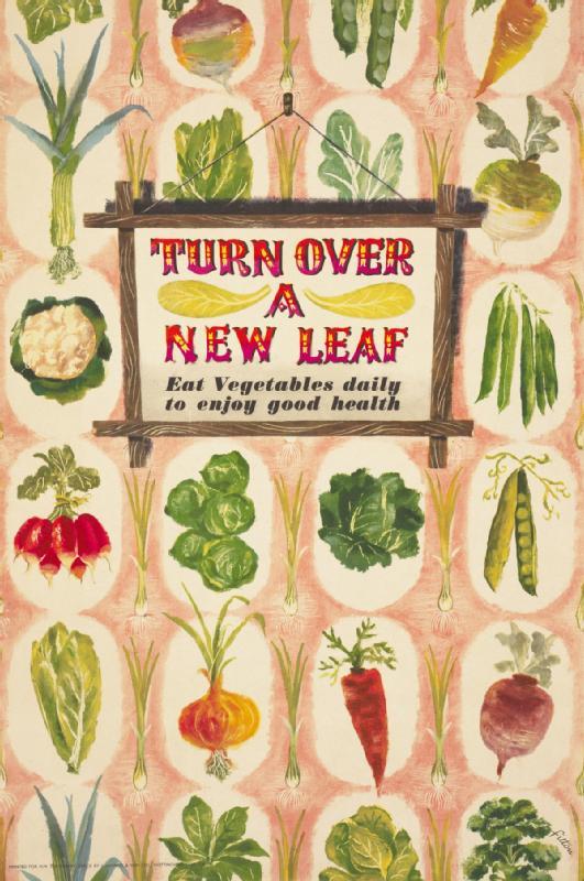images of vegetables carrots lettuce cabbage turn over a new leaf