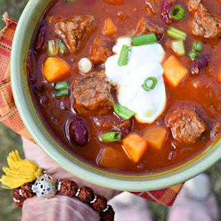 {Slow Cooker} Steak & Squash Harvest Stew