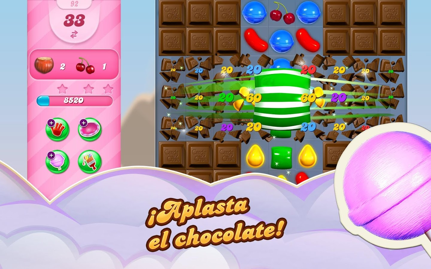 Candy Crush Saga: captura de pantalla