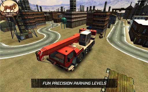 Construction Truck Parking 16