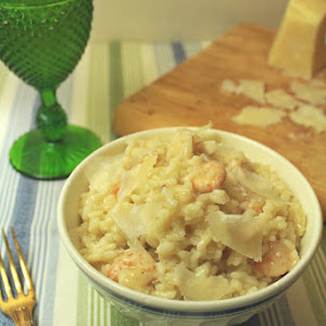 Shrimp and Red Fish Risotto