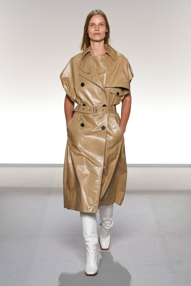 Leather raincoats 11