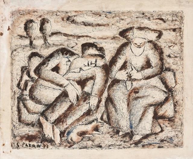 'Siesta', firmada en 1942.