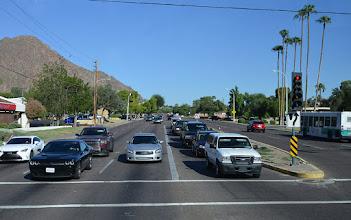 Photo: En route vers la ville de Tucson, dans le désert de Sonora.
