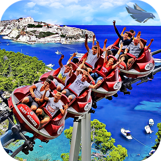 VR Real Island Roller Coaster