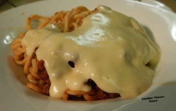 Cheddar Cheese Sauce Recipe