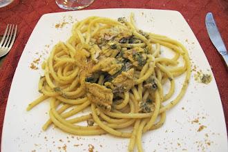 Photo: pasta con le sarde