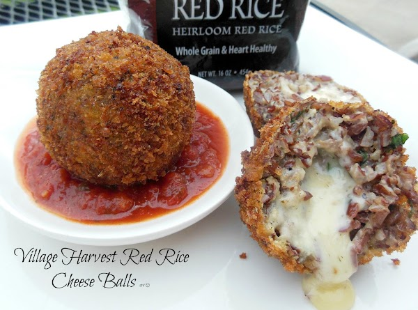 Village Harvest Red Rice & Cheese Balls Recipe