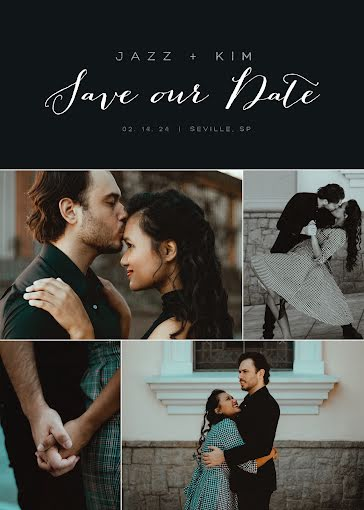 Jazz and Kim - Save the Date Template
