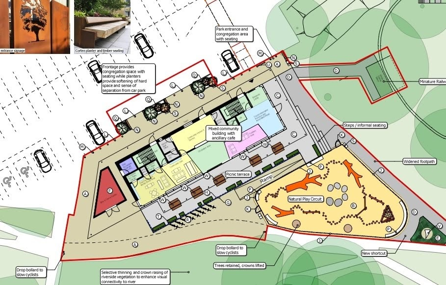 New plans submitted for riverside development