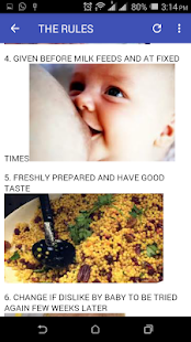 13 GOLDEN RULES IN WEANING - náhled