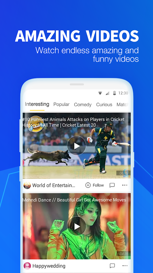 UC News - Trending News, Cricket Livescore, Videos- screenshot