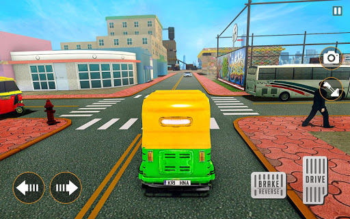 City Tuk Tuk Rickshaw Driver 2019 screenshot 4