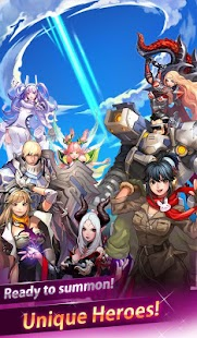 Heroes of Sky Shooting RPG 2.2.3 APK + MOD (God mode/1hit kill)