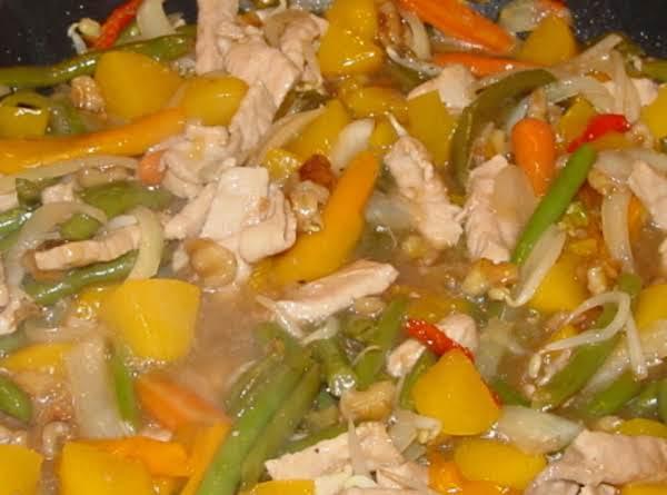 Georgia Chicken Scampi Recipe