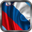 Slovenian Flag Live Wallpaper icon