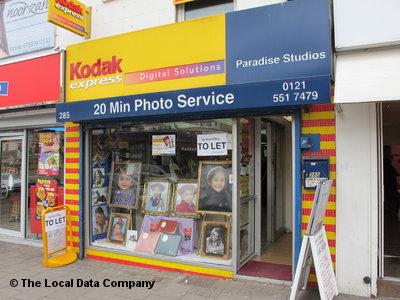 Kodak Express on Soho Road - Film Developers in Handsworth