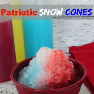 Patriotic Snow Cones