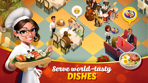 Tasty Town - Cooking & Restaurant Game ud83cudf54ud83cudf5f screenshots 1