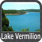 Lake Vermilion - Minnesota gps map navigator