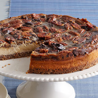 Chocolate-Pecan Pie Cheesecake