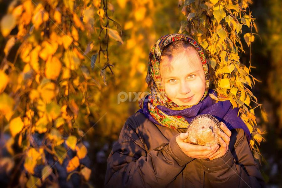 Last moments og autumn   | Child Portraits | Babies