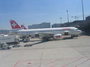 Photo: Abflug in Zürich mit Airbus 321