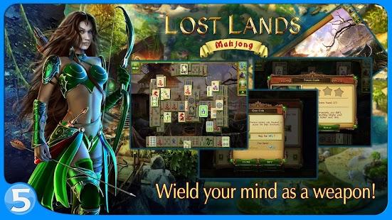 Lost Lands: Mahjong Premium- screenshot thumbnail