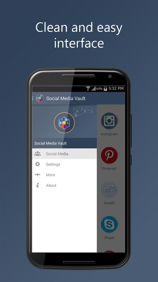 Social Media Vault- screenshot