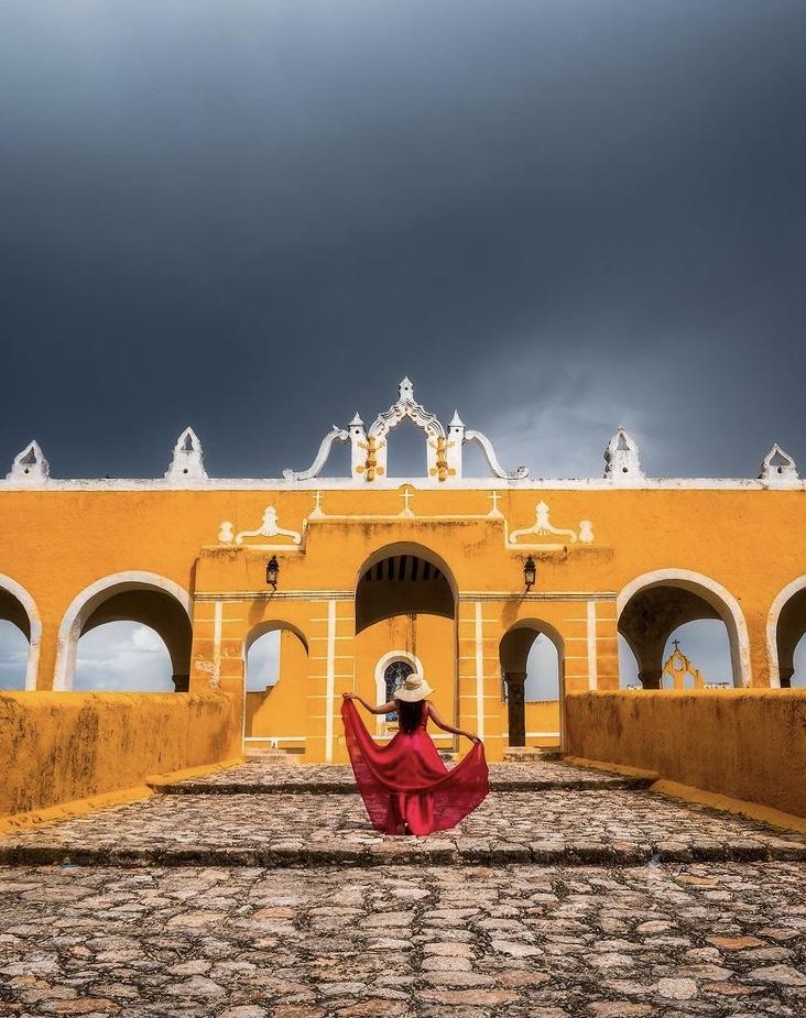 Iglesia Amarilla de Izamal Yucatán