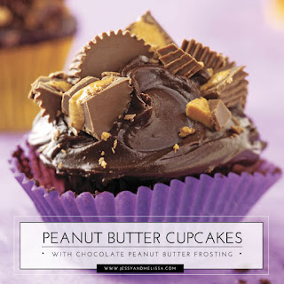 Peanut Butter Cupcakes with Chocolate Peanut Butter Frosting Recipe