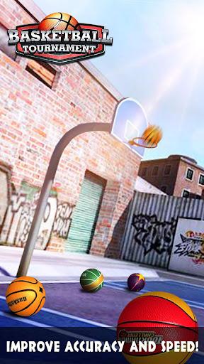 Basketball Tournament - Free Throw Game 1.2.0 screenshots 8