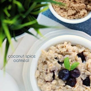 Coconut Spice Oatmeal