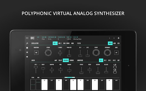 DRC - Polyphonic Synthesizer- screenshot thumbnail