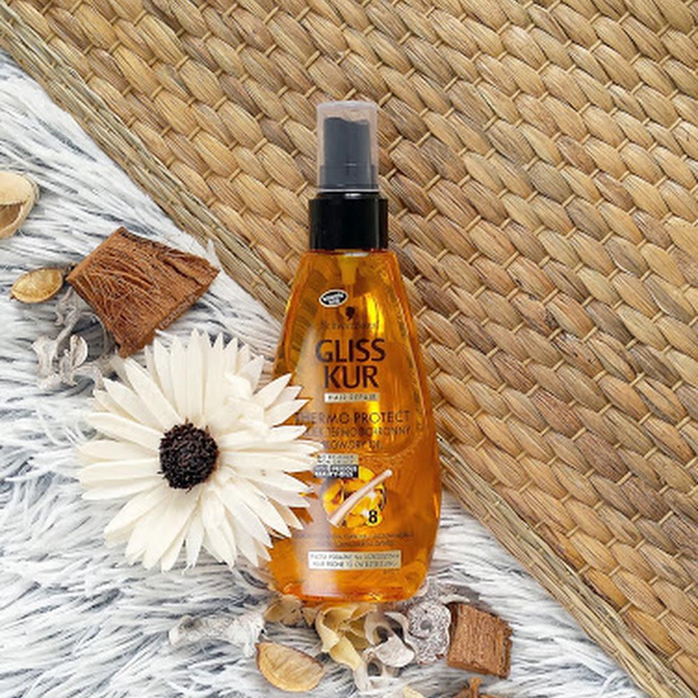 Gliss Kur Thermo-Protect | Olejek termoochronny do włosów podatnych na uszkodzenia