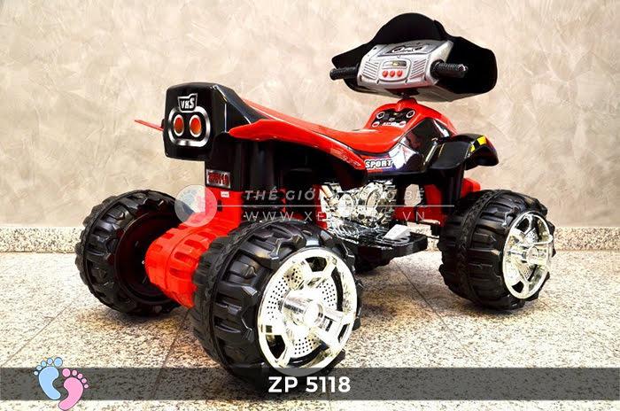 Xe moto điện trẻ em 4 bánh ZP-5118 6
