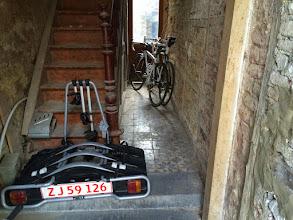 Photo: Privat cykelopbevaring, meget praktisk
