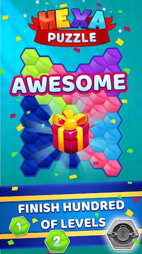 Hexa Puzzle apkpoly screenshots 1