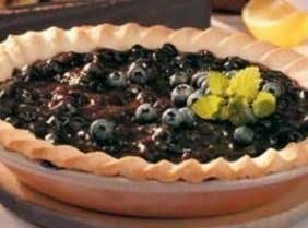 Cream Cheese Blueberry Pie Recipe