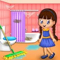 Girl Family House Cleaning: Room Cleanup Games icon