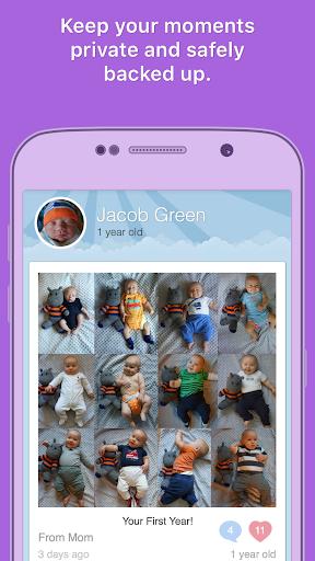 Moment Garden  Baby Photo Book Screenshot
