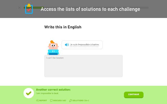 Duolingo Solution Viewer