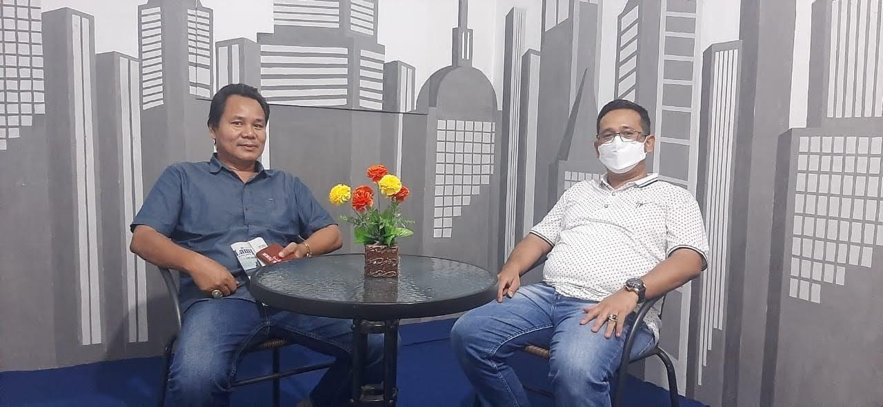 Kajari Tanggamus Dilaturahmi ke Sekretariat DPD AJOI Lampung dan Studio Buanainformasi TV