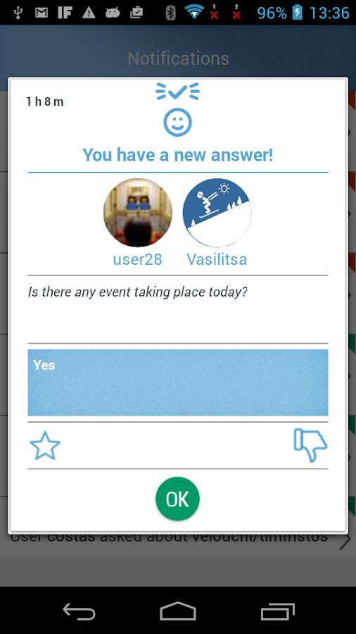 SnowUp SkiResort Human network - στιγμιότυπο οθόνης