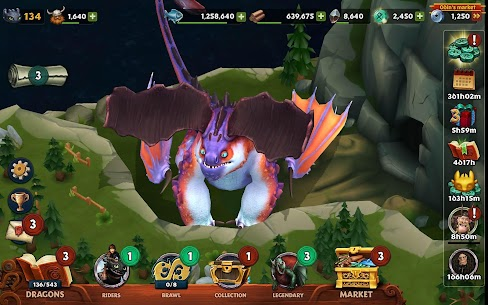 Dragons Rise Of Berk Mod Apk 1.51.7 (Unlimited Runes + No Ads) 6