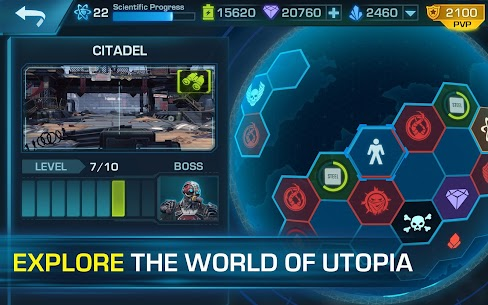 Evolution 2: Battle for Utopia. Action shooter App Latest Version Download For Android and iPhone 10