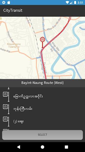 CityTransit Yangon 1.9 screenshots 3